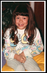 Paula Holguin, 6, was killed in a massacre at Las Cruces Bowl on the morning of Feb. 10, 1990.