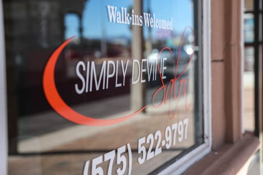 Simply Devine Salon is pictured on Saturday, Feb. 8, 2020.