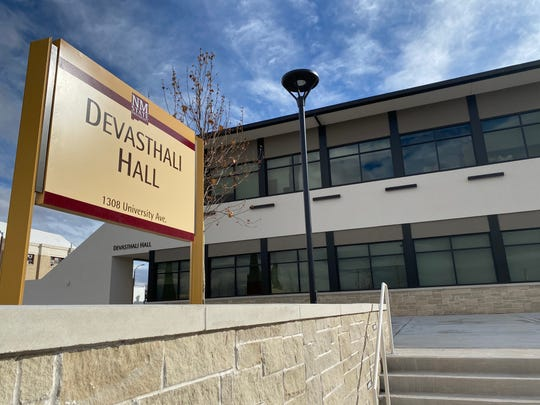 Devasthali Hall, named to honor Rama and Ammu Devasthali, houses NMSU's Department of Art and University Art Museum. The building will have its grand opening for the community starting at 6:30 p.m. on Friday, Feb. 28, 2020.