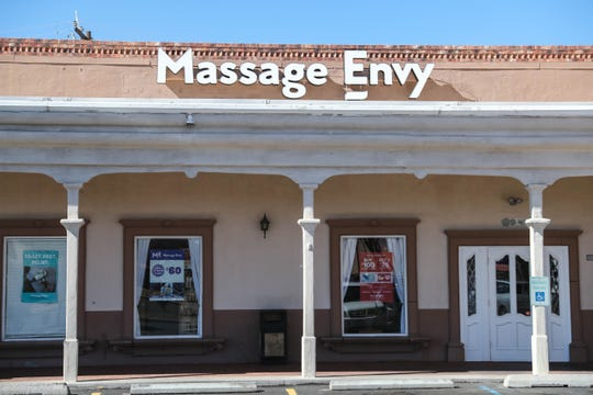 Massage Envy is pictured on Saturday, Feb. 8, 2020.