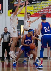 The Las Cruces boys beat Centennial on Friday in District 3-5A play.