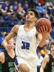 Oshkosh West boys basketball junior Jacquez Overstreet said he gets chills watching Michael Jordan highlights.