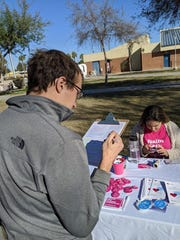 One Arizona launched its voter registration campaign with an event at Carl Hayden High School on Saturday, Feb. 8, 2020.