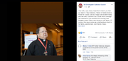 The Rev. Raul Valencia died in a car accident on Feb. 7, 2020, the Roman Catholic Diocese of Tucson said in a statement.