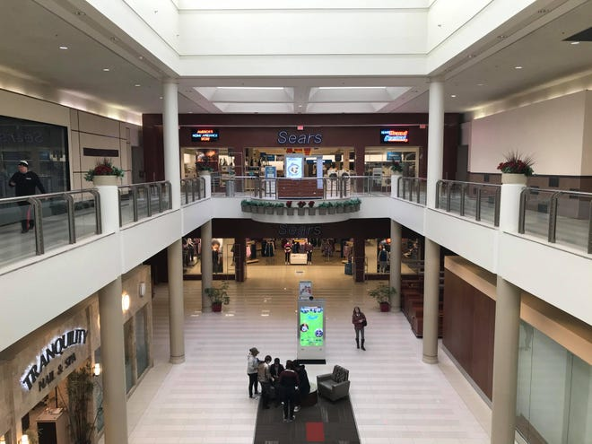 The interior of the Poughkeepsie Galleria is shown last month.