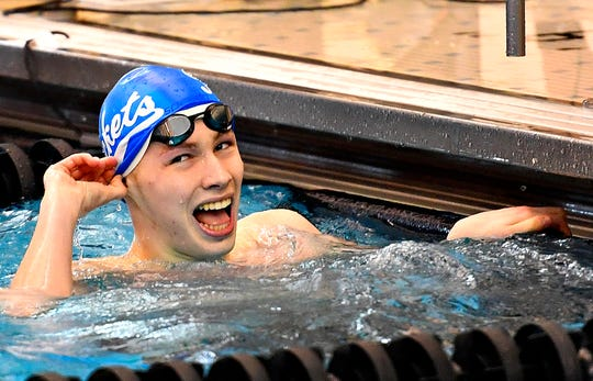 Spring Grove swimmer Daniel Gordon.