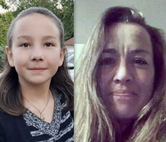 Trinity County deputies had been looking for Skye Greenway, left, and her mother, Sheila Johnson. The mother told deputies Saturday morning where she and her daughter were and deputies ended up letting Johnson and Skye remain together for the time being.