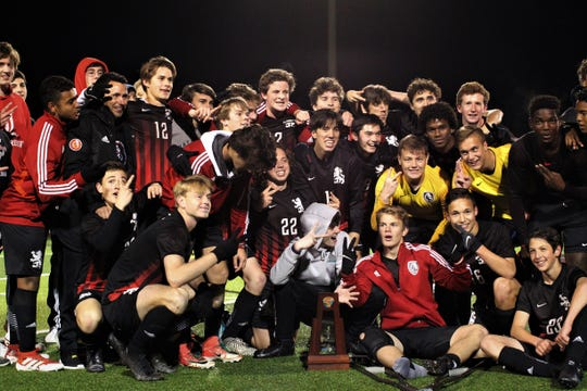 Leon's boys soccer team beat Ocala Forest 6-0 in the District 2-6A final on Feb. 7, 2020