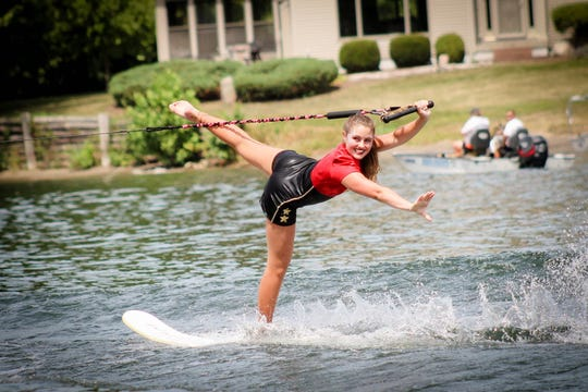 Wausau West junior Molly Schaefer was named to the national water ski show team last year and will compete next month in the World Ski Show Tournament in Australia.