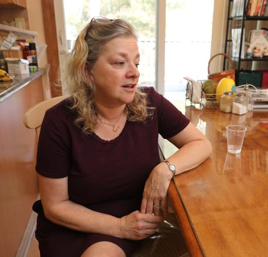 Rhonda Parsons is pictured at her home in Wesley Hills, Feb. 8, 2020.