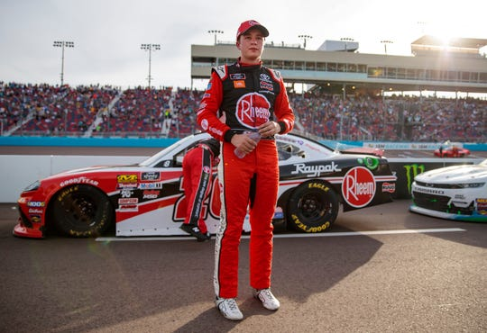 Christopher Bell won the NASCAR Truck Series championship in 2017 and made the finals of the NASCAR Xfinity Series playoffs in 2018 and 2019.