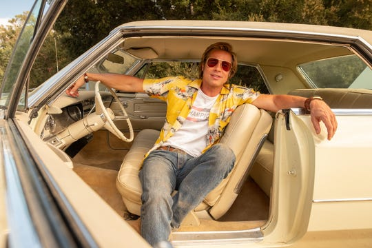 """Loyal stuntman Cliff Booth in """"Once Upon a Time in Hollywood"""" is the kind of role that lets Brad Pitt bring everything he does well as an actor."""