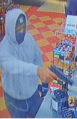 Police searching for armed robbery suspect in Green Township.