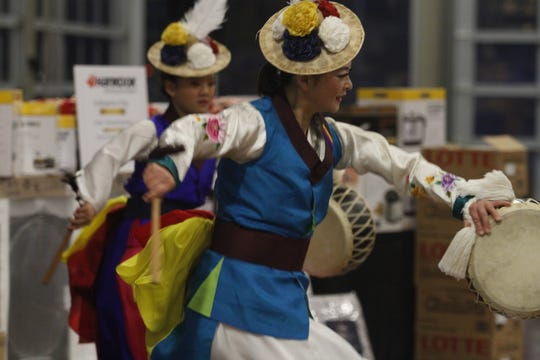 Clarksville's Korean American Association celebrated Korean New Year on Saturday, Feb. 8, 2020.