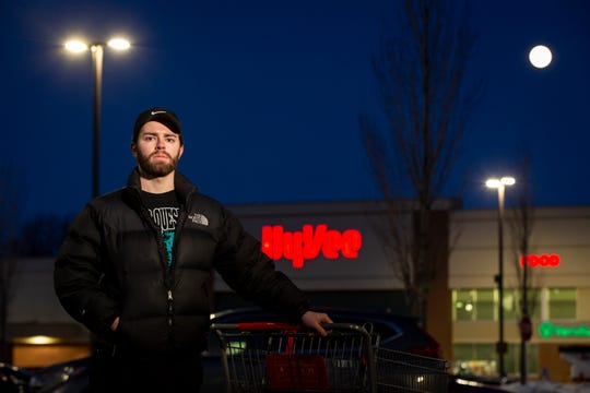 As a third-shift worker, Angelo Rossi often goes grocery shopping well after midnight. But with both the Walmart and Hy-Vee on Southeast 14th Street in Des Moines ending their round-the-clock hours, he's having to make a big adjustment.