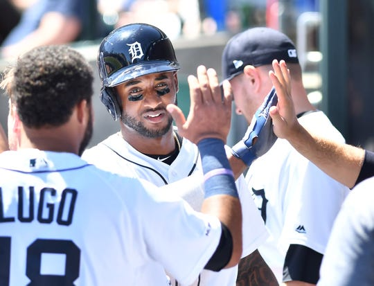 Niko Goodrum figures to anchor the Tigers at shortstop.