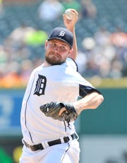 Reliever Alex Wilson pitched for the Tigers from 2015-18.