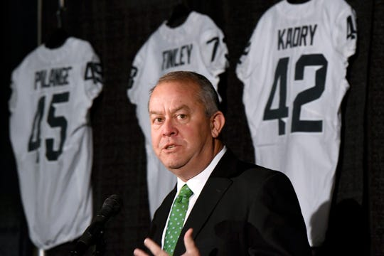 Ex-Michigan State athletic director Mark Hollis' deposition in the Curtis Blackwell lawsuit, which is believed to have detailed the recruitment of troubled prospect Auston Robertson as well as Hollis' objection to offering a scholarship, will remain sealed, a federal judge has ruled.