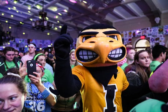 Herky the Hawk has air superiority, but can he triumph in a battle with the other Big Ten mascots?