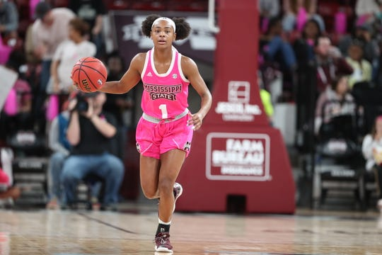 Mississippi State redshirt sophomore point guard Myah Taylor led the Bulldogs to a comeback victory over Texas A&M on Sunday.