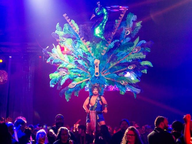 The Mystic Krewe of Apollo de Lafayette held its 44th Annual Mardi Gras Ball. This years theme was 'Apollo's Mixtape'. Saturday, Jan. 8, 2020.