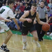 Shelby's Cody Lantz has the Whippets at No. 2  in the Richland County Boys Basketball Power Poll.
