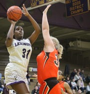 Lexington's Avery Coleman has Lady Lex at No. 4  in the Richland County Girls Basketball Power Poll.
