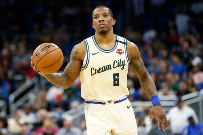 Bucks guard Eric Bledsoe has not been with the team in Orlando and has tested positive for COVID-19.