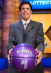 Milwaukee Bucks general manager Larry Harris was awarded the number one pick in the 2005 NBA draft at the draft lottery Tuesday night, May 24, 2005, in Secaucus, N.J.