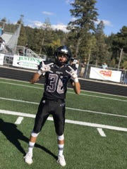 Luis Mendez played defensive back for the Oñate High football team. He was killed Saturday, Feb. 8, 2020, in a car crash.