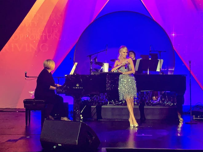 """Kristin Chenoweth, seen here at the 26th annual Steve Chase Humanitarian Awards on Saturday, Feb. 8, 2020, will be among the performers on """"Voices of Hope: Together, We Thrive."""""""