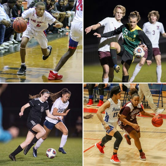 Pine Forest's Jaylyn Clardy, Pensacola Catholic's Miller Thorsen, Pensacola's Shannon Duffy and Pace's Cyla Byrd are among this week's candidates for PNJ Athlete of the Week.