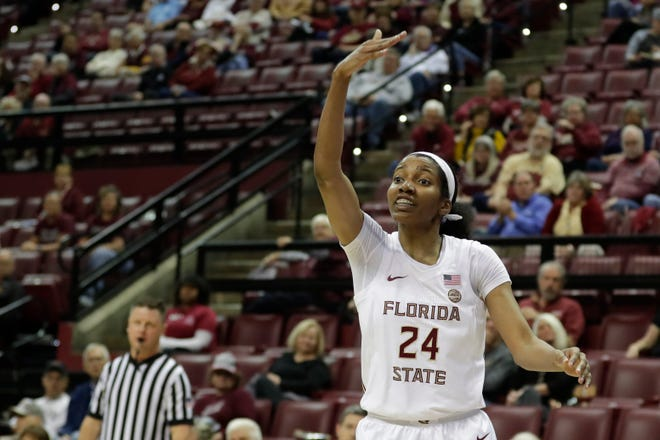 FSU junior guard Morgan Jones is one of five ACC athletes who will serve on the advisory committee to select the replacement to conference commissioner, John Swofford, who will retire after the 2020-2021 athletics schedule ends.