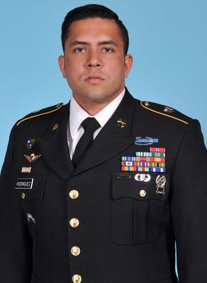 U.S. Army soldier Antonio Rey Rodriguez, 28,  of Las Cruces, New Mexico, was killed in Afghanistan on Feb. 8, 2020.