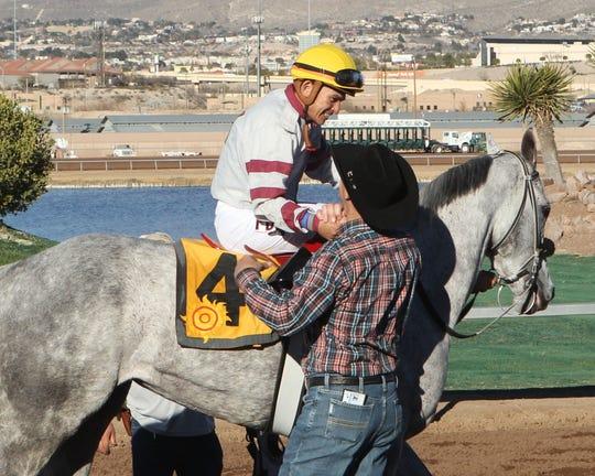 Susans Violette won the La Coneja Stakes at Sunland Park Racetrack & Casino on Saturday.