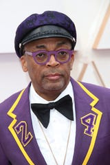 Spike Lee arrives at the 92nd Academy Awards at Dolby Theatre.