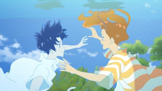 """A scene from Masaaki Yuasa's """"Ride Your Wave."""""""