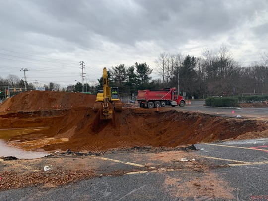 Construction of the Lincroft Tavern, on the site of what was the Lincroft Inn, has begun.