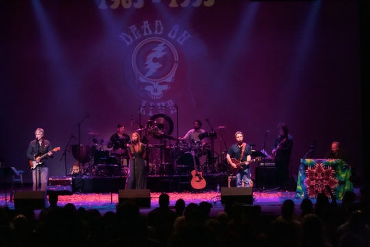 Monmouth County native guitarist Marc Muller, left, is the music director, producer and arranger for Grateful Dead tribute act Dead On Live.