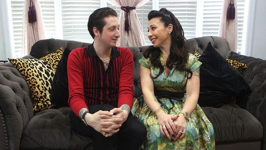 Burlesque producer Angie Pontani and Jazz bandleader Brian Newman talk about their relationship on and off the stage