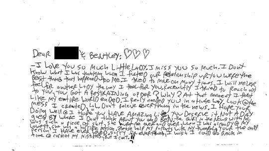 John Ozbilgen suicide note