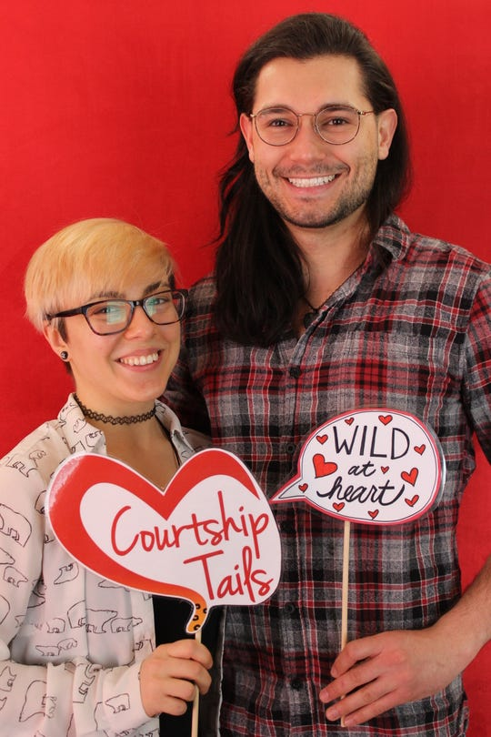 The Ross Park Zoo's annual Courtship Tails event will return in honor of Valentines Day.