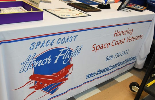 Space Coast Honor Flight held a picnic at Wickham Park Senior Center in Melbourne for their volunteers, organizations that have helped them, and the veterans they bring on trips to Washington, D.C. to see the memorials.