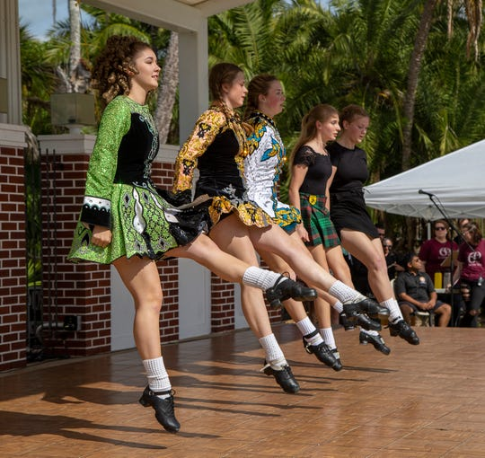World cultures will be celebrated at Florida Tech's International Festival from noon to 4 p.m. Sunday, Feb. 16, 2020. Music and dance performers, like these Irish step dancers, will give demonstrations. Admission is free.