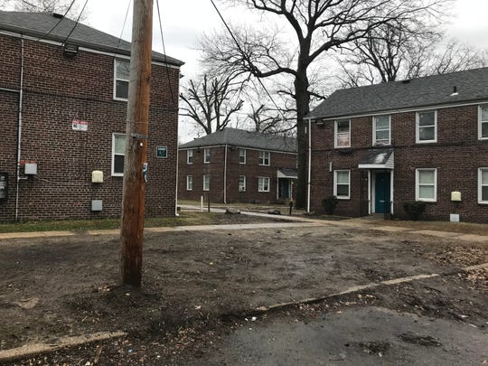 Crestbury Apartments in Camden have been plagued by mold, trash and plumbing problems, residents say.