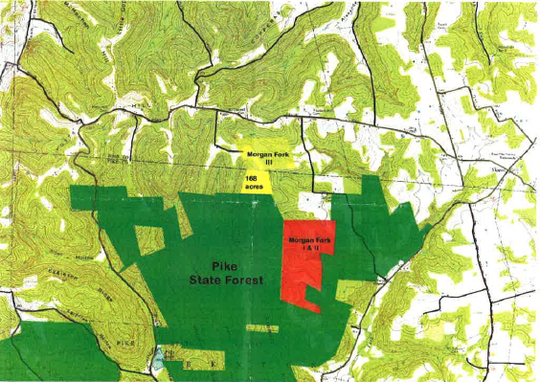 The Highlands Nature Sanctuary, part of the Arc preserve system, is looking to expand its current Morgan Fork Preserve with the purchase of Morgan Fork III which would help protect multiple parcels of land in Ross and Pike counties.