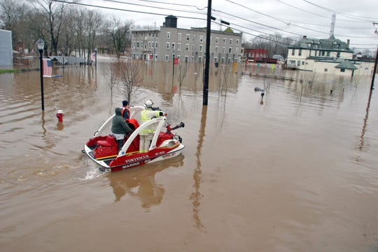 With a history of devastating floods, Bound Brook signed a redevelopment agreement in 2000 with Advance of Bound Brook to redevelop a flood-prone portion of the borough. That agreement is the subject of a lawsuit.
