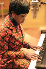 "Cynthia Erivo as Aretha Franklin in National Geographic's ""Genius."""