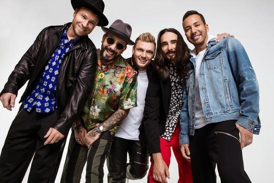 Backstreet Boys performed at Little Caesars Arena in 2019.