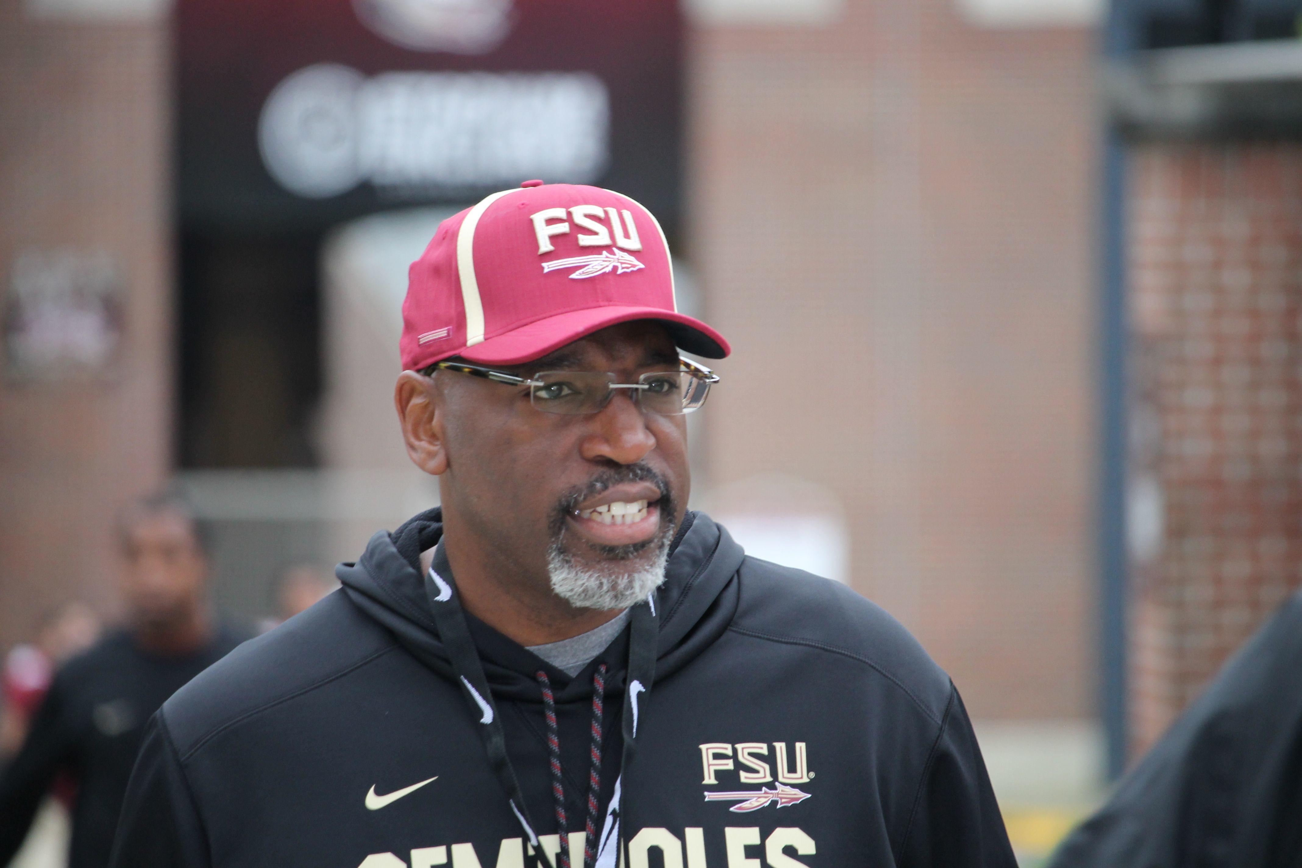 Former Florida State defensive coordinator and secondary coach Harlon Barnett.